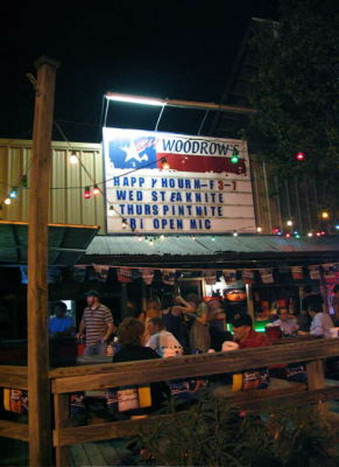 Big Woodrow's hosted the 4th Annual Pre-Labor Day Pregnant Bikini Contest August 28, 2008. Photo: Jordan Graber, For The Chronicle