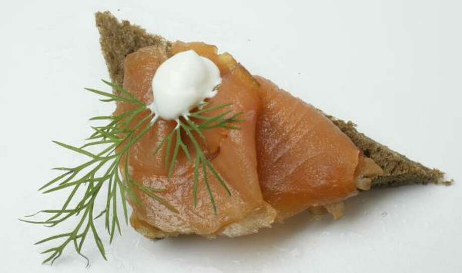 APPETIZER: Get your party off to a smooth start by serving gravlax. Photo: BUSTER DEAN, CHRONICLE