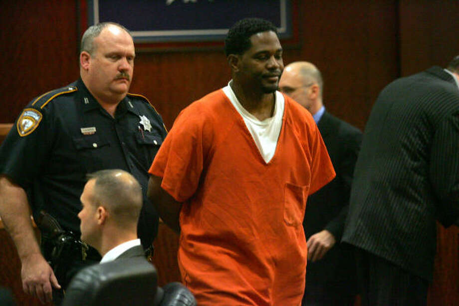 Faruq Kwame Jabari appears in court Tuesday. Photo: Johnny Hanson, For The Chronicle
