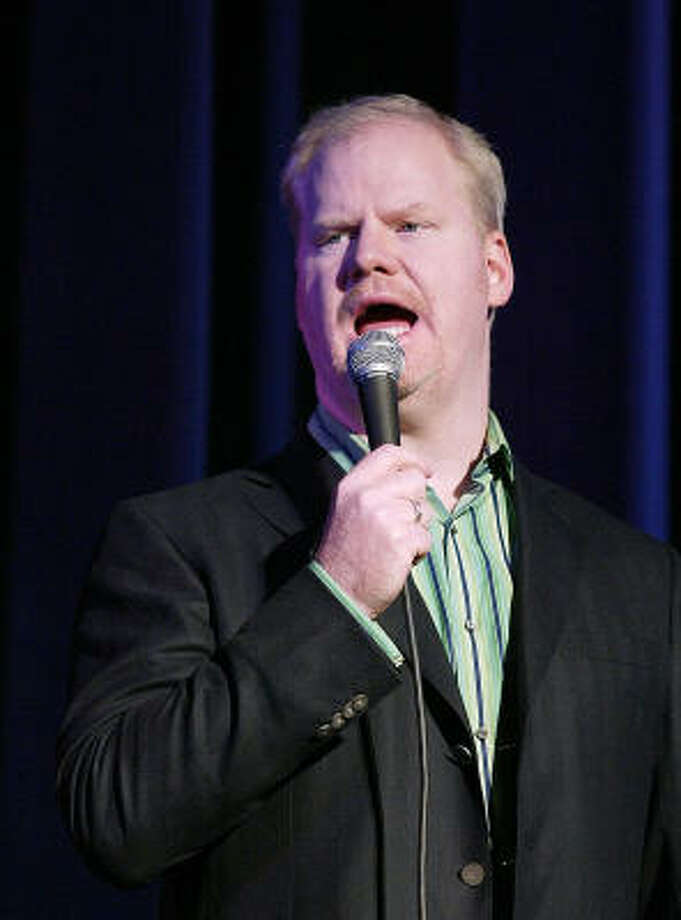 """Jim Gaffigan describes his gig at Verizon Wireless Theater as """"like the sweet spot of a bat."""" Photo: Al Maglio, Associated Press"""