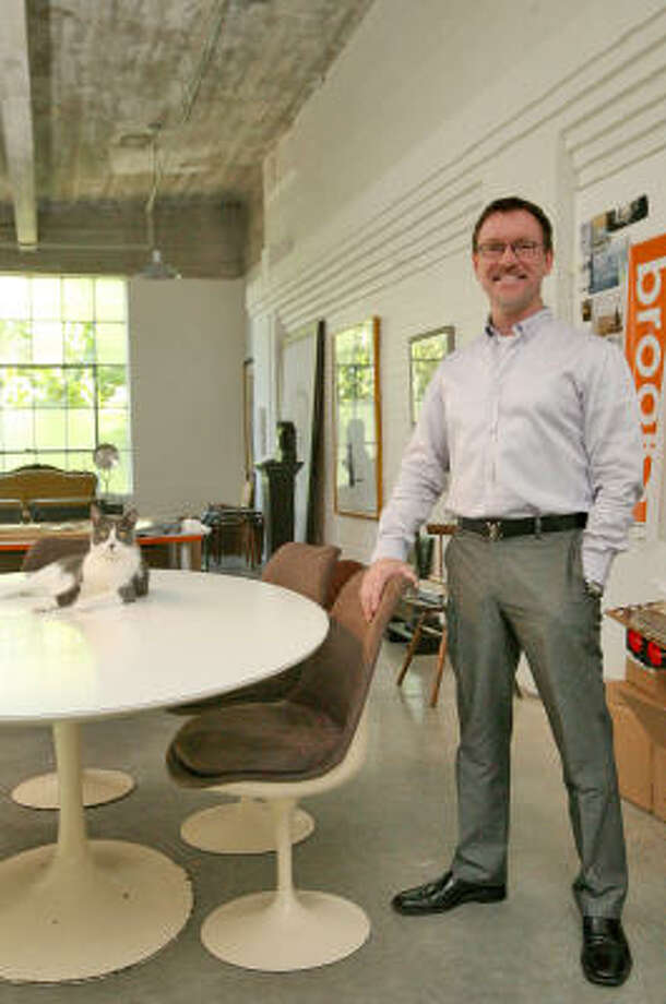 Robert Reid is a principal at Brooks-Reid Studio. Photo: Bill Olive, For The Chronicle