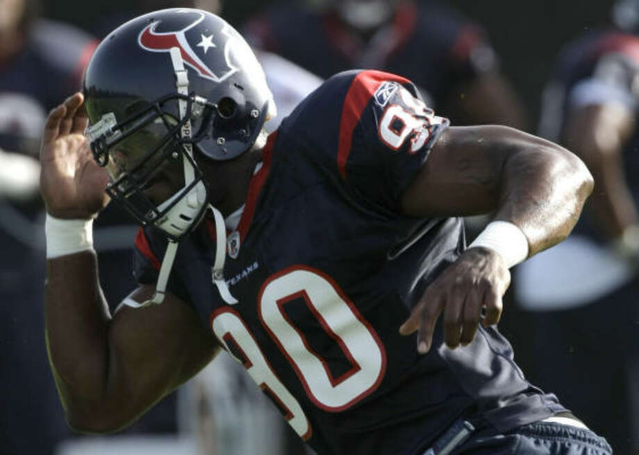 AFC SOUTH: HOUSTON TEXANSTop executive — Mario Williams, DE:If Williams plays like he did in the second half of last season, he'll make the Pro Bowl for the first time. Photo: Brett Coomer, Chronicle