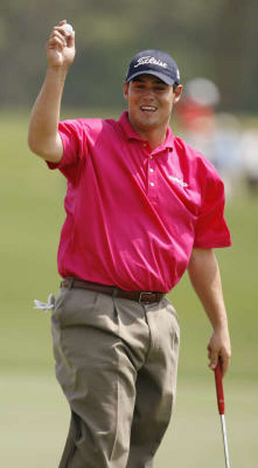 Rookie Johnson Wagner is one of three players tied for the lead after the first round. Photo: BILLY SMITH II, CHRONICLE