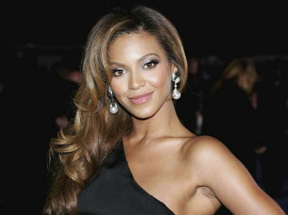 Beyoncé gives star power to the Emporio Armani Diamonds fragrance. Photo: Gareth Cattermole, Getty Images