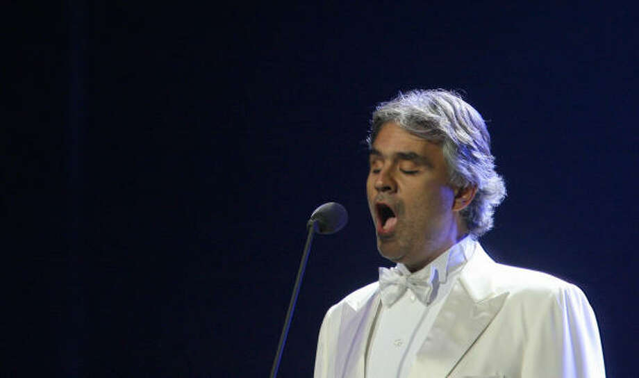 "Andrea Bocelli went public with his story about how his mother rejected doctors' advice to abort him, in hopes that it will inspire other women to keep their babies. ""I can tell you it was the right choice,"" he said.  Photo: Sergio Dionisio, Getty Images"