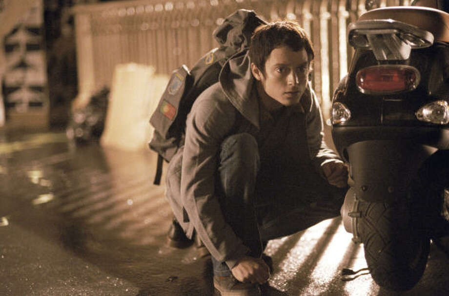"Paris3: Elijah Wood as Young Man in Vincenzo Natali's ""Quartier de la Madeleine"" segment of the movie. Photo: First Look Pictures"
