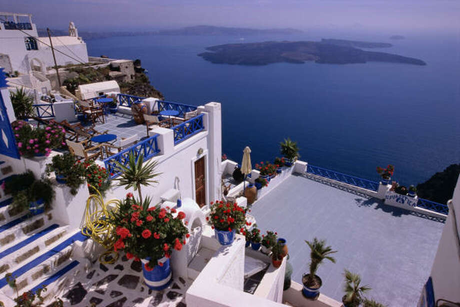 Fabled Santorini and the Greek islands offer rich local arts and crafts along with sun-dappled beaches and exquisite views. Photo: Diana Mayfield, Lonely Planet Images