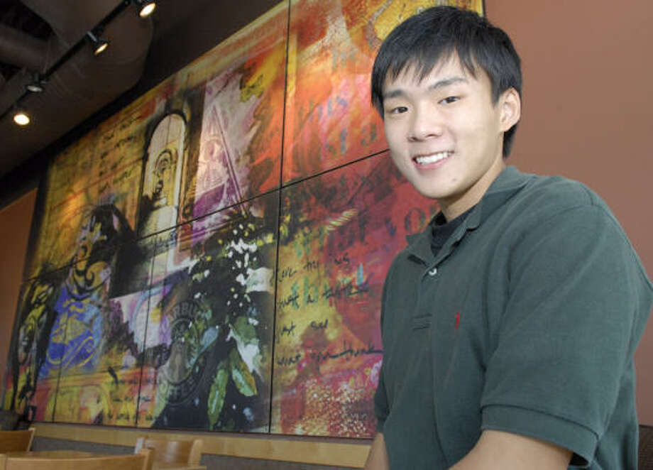 Eric Dong is the valedictorian of the Class of 2007 at Clear Lake High School. Photo: Kim Christensen, For The Chronicle