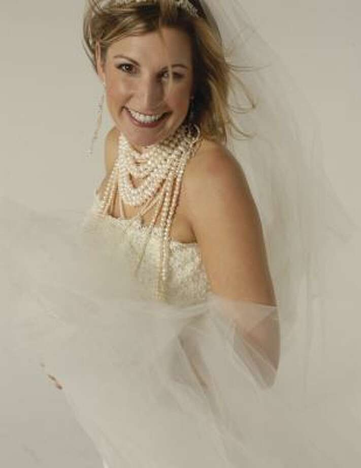 Laurette Veres was married this year. Photo: BRIDAL EXTRAVAGANZA