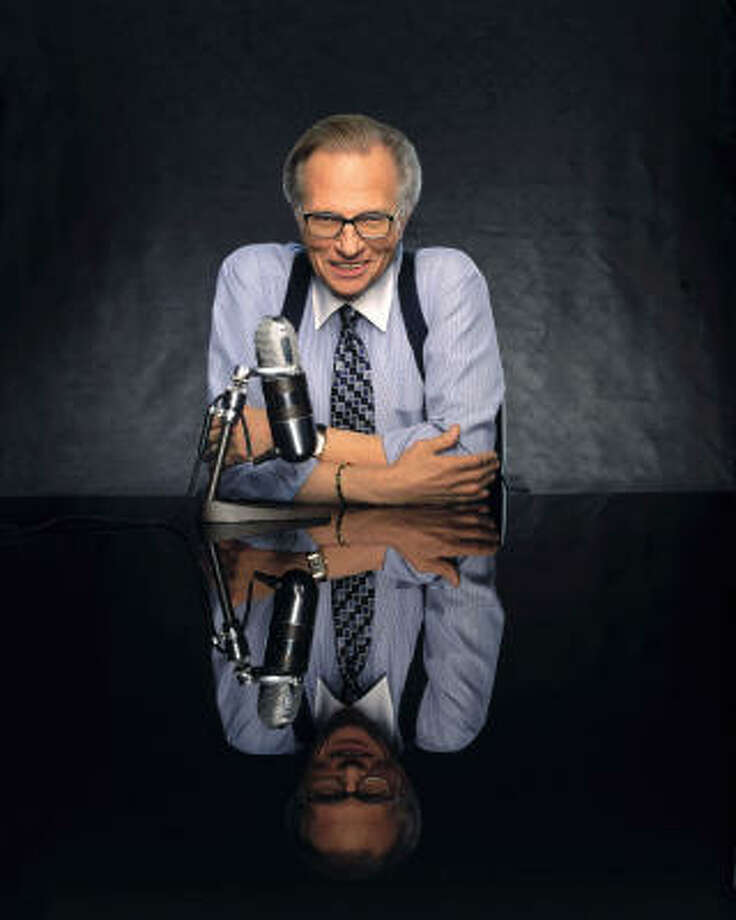 Larry King Photo: PBS