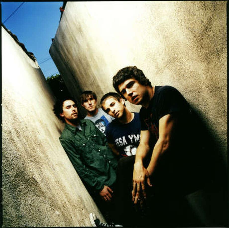 El grupo de música pop-punk Say Anything se presenta el martes 15 en Warehouse Live. Photo: Dan Monick