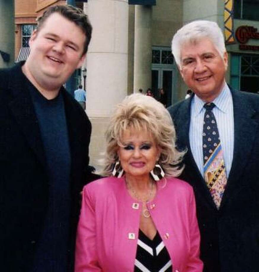 J.T. Buck and Fernando Dovalina have co-written a musical about the life of Tammy Faye Messner. Photo: COURTESY OF J.T. BUCK AND FERNANDO DOVALINA