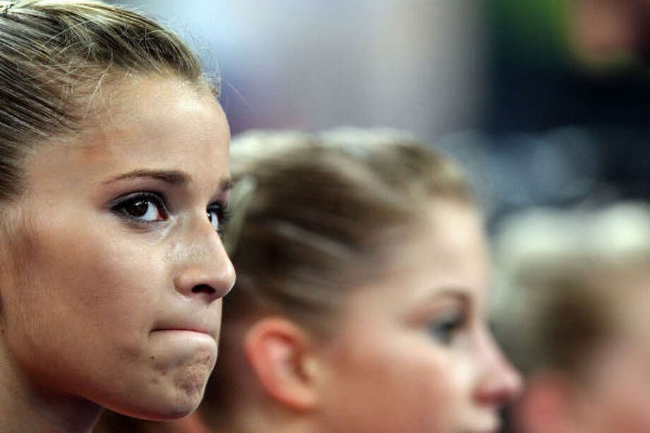 U.S. gymnast Alicia Sacramone may not leave Beijing a winner, but she's taught us a valuable lesson. Photo: Al Bello, Getty Images