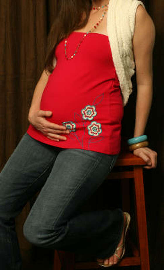 Because Kristin2Go is pregnant, she's not drinking alcohol. Photo: Mayra Beltran, Houston Chronicle