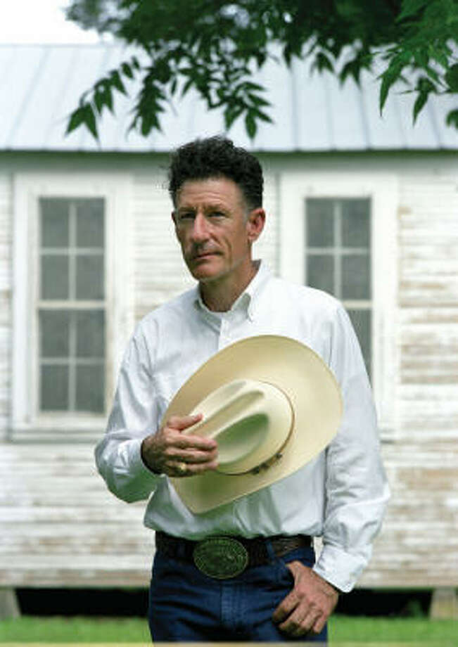 Lyle Lovett peforms with his Large Band in a tour-closing performance at the Cynthia Woods Mitchell Pavilion on Sunday. Photo: Michael Wilson, Universal/Lost Highway