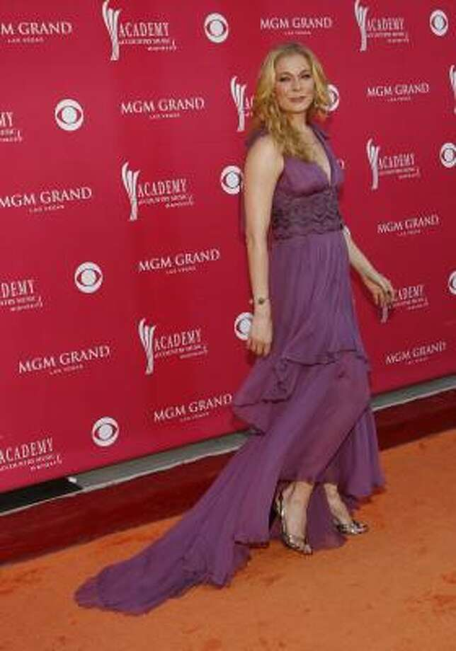 LeAnn Rimes arrives at the 43rd Annual Academy of Country Music Awards on May 18. Photo: Isaac Brekken, AP