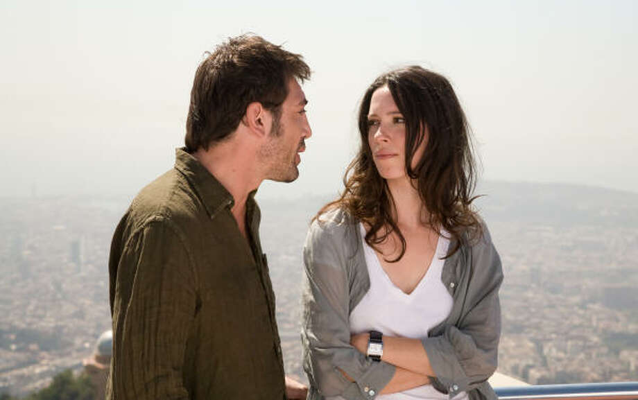 Javier Bardem and Rebecca Hall star in Woody Allen's Vicky Cristina Barcelona. Photo: Weinstein Company
