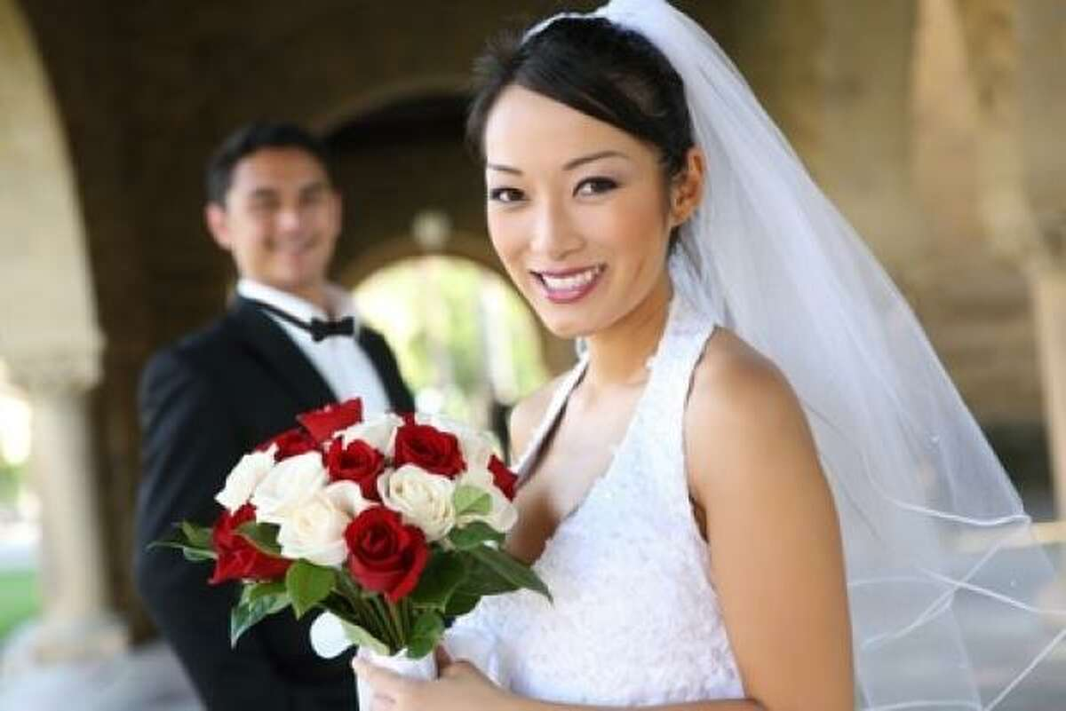 Blushing brides In Texas, brides plan to spend $188 on makeup and $165 on their hair.