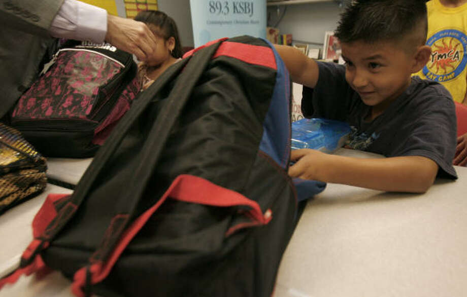 In a few weeks, we will all have homework written in our planners, and our backpacks will be stuffed with books. Photo: Johnny Hanson, Houston Chronicle