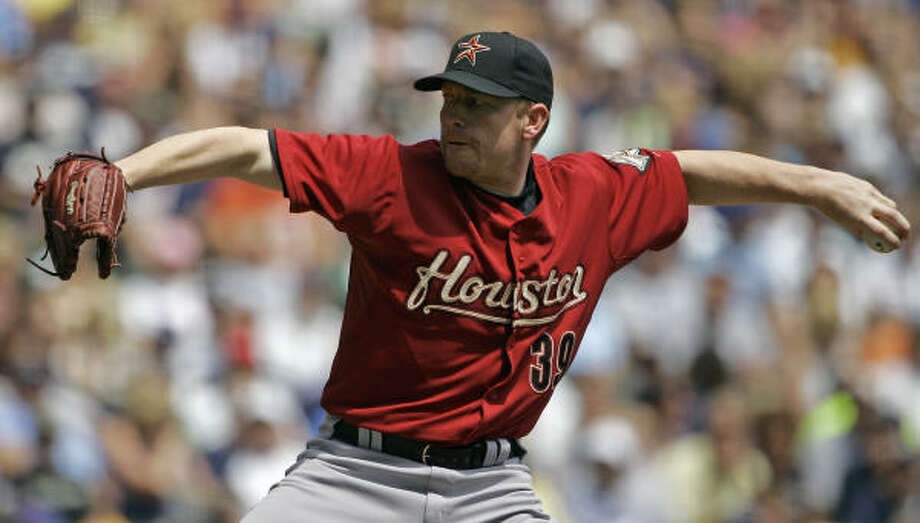 DEPARTED: San Diego | ARRIVED: Houston The Astros acquired lefthander Randy Wolf from the San Diego Padres in exchange for minor-league righthander Chad Reineke. Photo: Morry Gash, AP