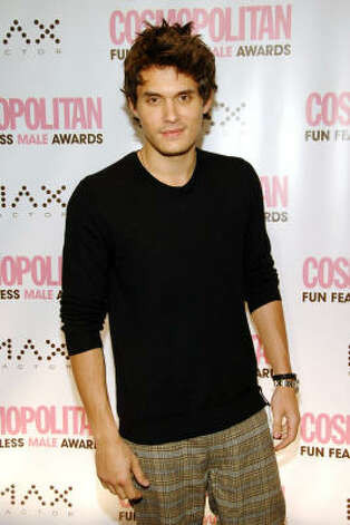 Musician John Mayer attends Cosmopolitan Magazine's Fun Fearless Male of the Year Awards in March. Mayer was honored as the Fun Fearless Male of the Year. Photo: Evan Agostini, Associated Press