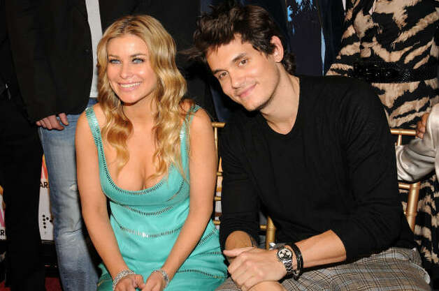 Actress Carmen Electra and musician John Mayer attend Cosmopolitan Magazine's Fun Fearless Male of the Year Awards in March. Photo: Bryan Bedder, Getty Images