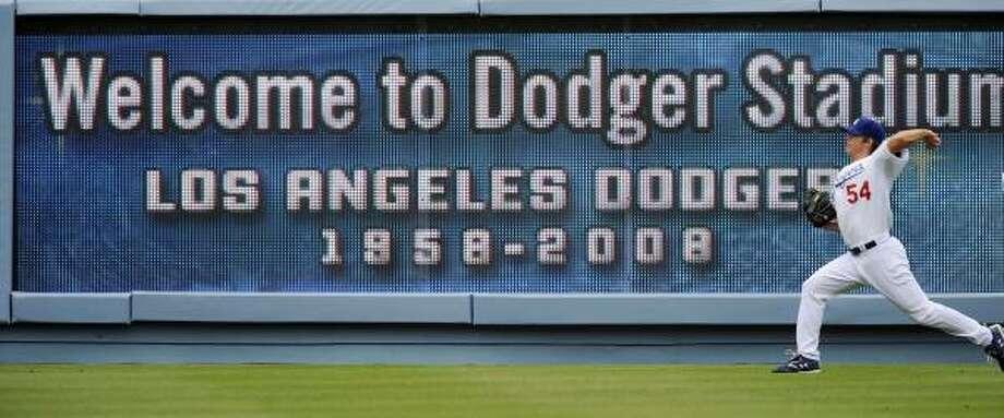 The Dodger Stadium in Los Angeles. Photo: Kevork Djansezian, Associated Press