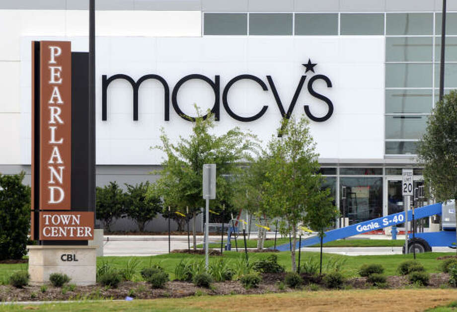Macy's at Pearlands Town Center will open the first Macy's Backstage discount store in the Houston area. Photo: Steve Ueckert, Houston Chronicle