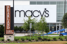 Macy's at Pearlands Town Center.