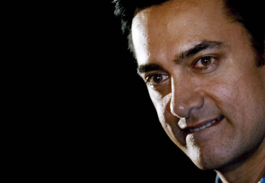 Indian actor and host Aamir Khan. Photo: STRINGER, AFP/Getty Images