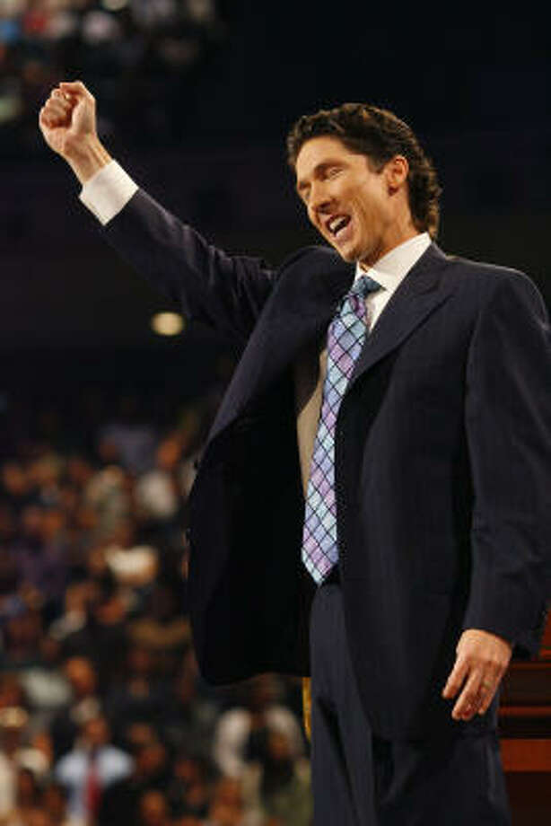 When his father died in 1999, Joel Osteen stepped into Lakewood Church's pulpit with little experience. As attendance grew from 6,000, he made the bold move to purchase the Compaq Center. Lakewood is now country's largest church with weekend attendance around 45,000. Osteen reaches millions more through an international television ministry and arena tours. His first book, Your Best Life Now, sold more than 5 million copies in the U.S. and was translated into 25 languages. Photo: Steve Ueckert, Houston Chronicle