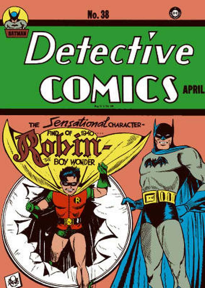 Before the big screen, Batman and Robin got their start in comic books.