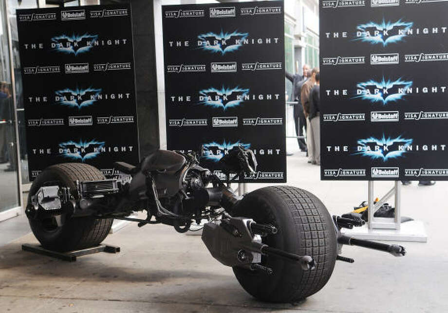 """The Bat Cycle"" was introduced for 'The Dark Knight Rises.' Photo: Evan Agostini, AP"