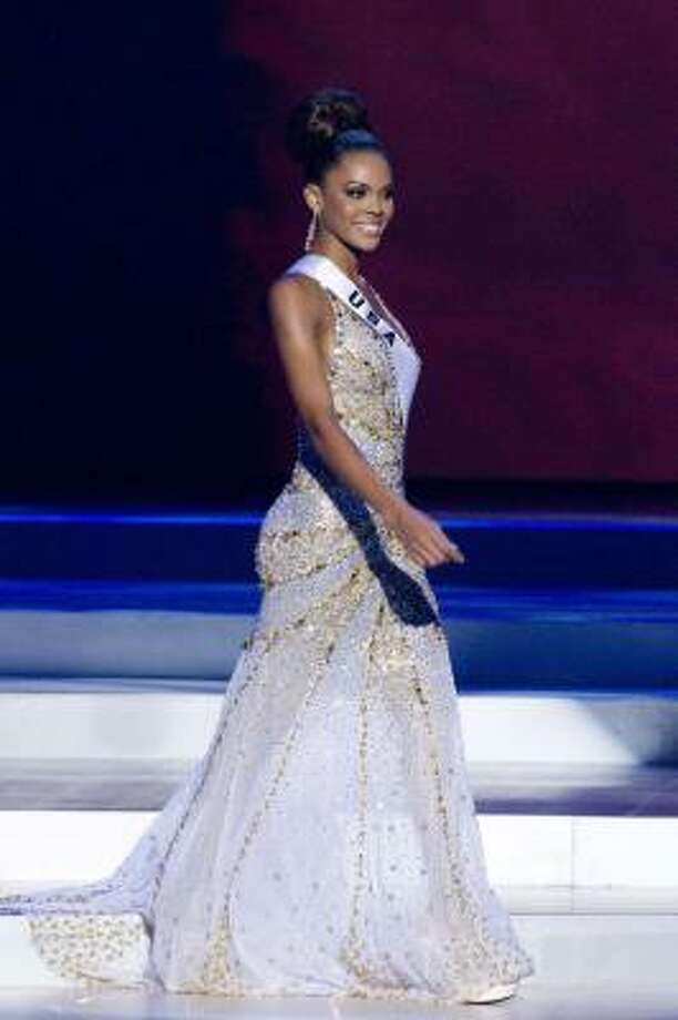 Miss USA 2008 Crystle Stewart Missouri City, Texas Photo: Darren Decker, AP