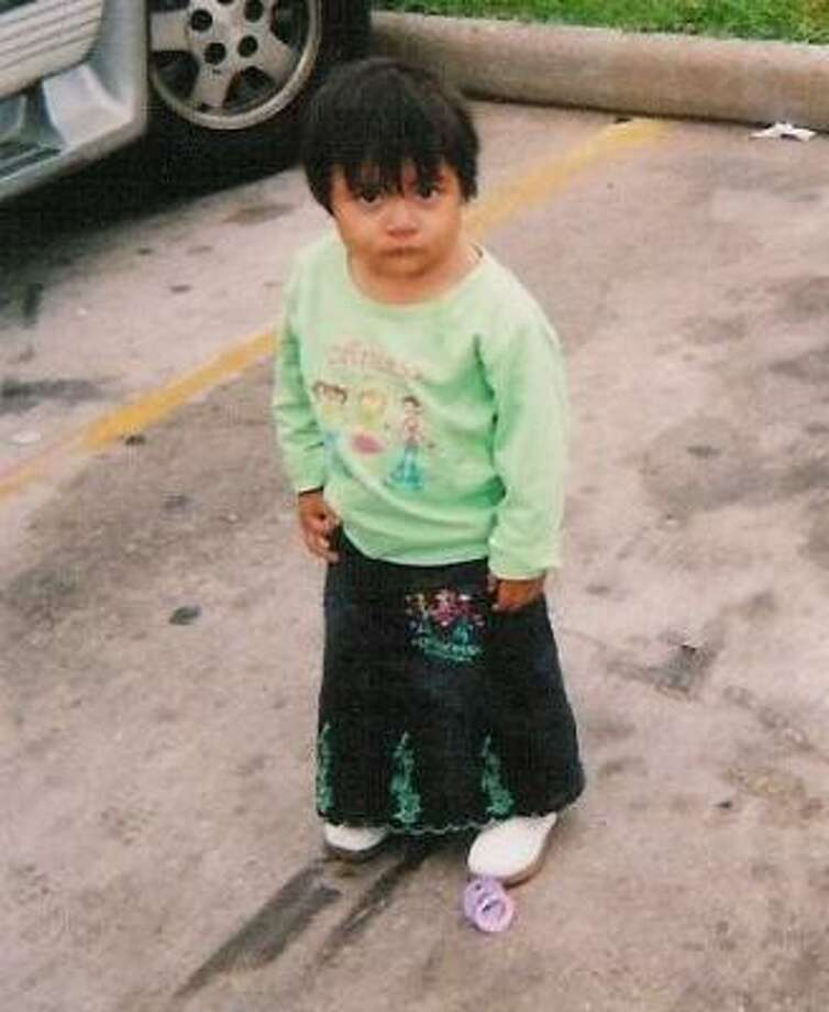 Two-year-old Stephanie Garcia was killed when carjackers stole her family's car and ran over her in their escape. Photo: FAMILY PHOTO, HOUSTON POLICE
