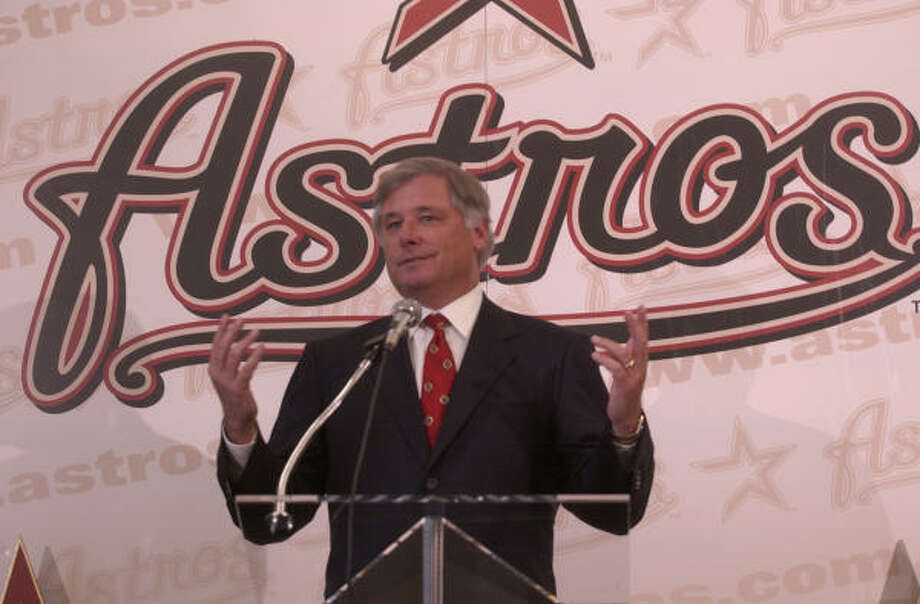 Former Astros general manager Gerry Hunsicker had to convince two rival executives to make a three-team deal - and get along with each other - in order to acquire Carlos Beltran from Kansas City. Photo: Melissa Phillip, Chronicle