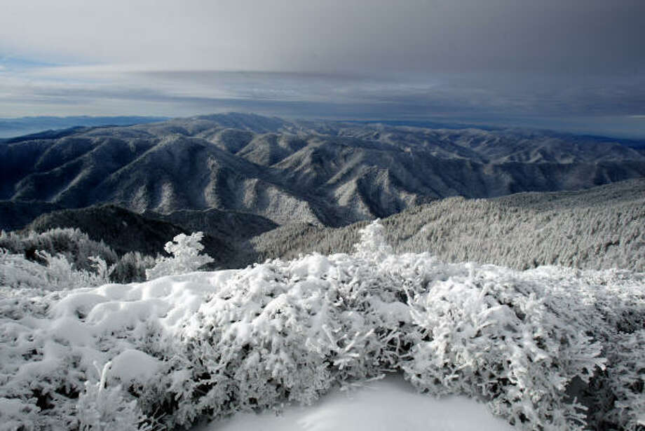 1. Great Smoky Mountains: 9,372,253 Photo: CATHY CLARKE, Associated Press