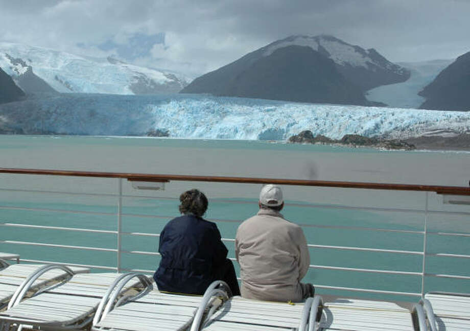 A two-week cruise ''around the Horn'' offers spectacular views of glaciers. Such cruises often begin in Valparáiso, Chile, or Buenos Aires, Argentina. Photo: Harry Shattuck, Chronicle