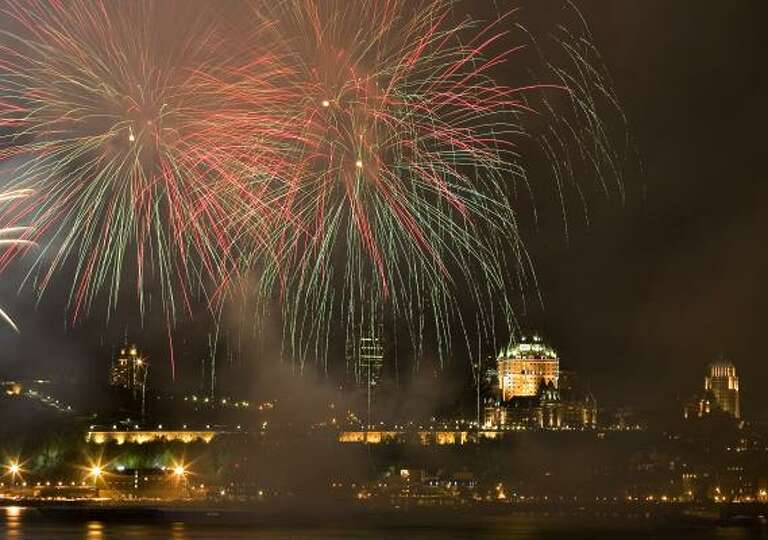Answer 46:The St.Lawrence. And incidentally, these July 3 fireworks launched