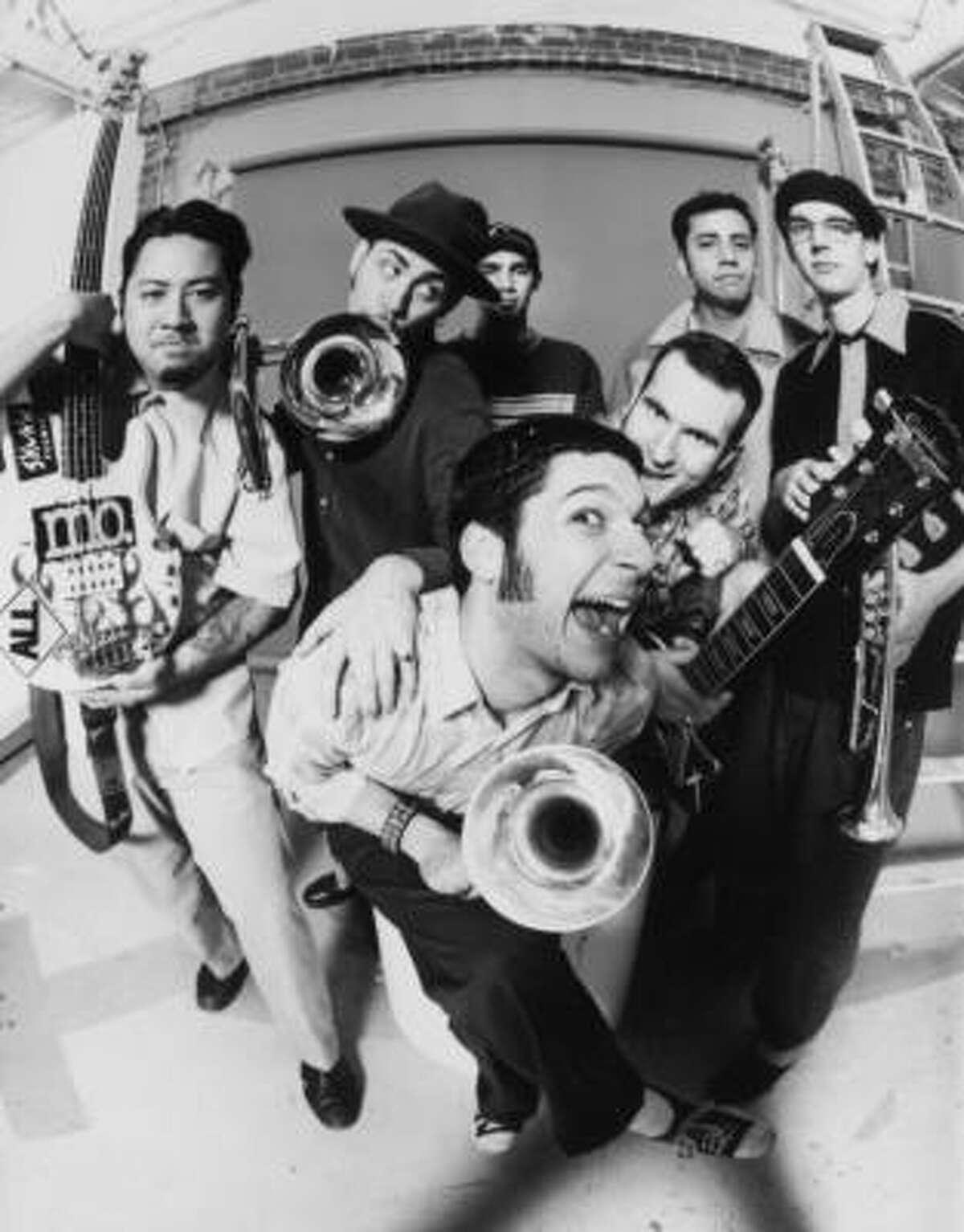 Funk ensemble Reel Big Fish plays White Oak Music Hall Jan. 29.