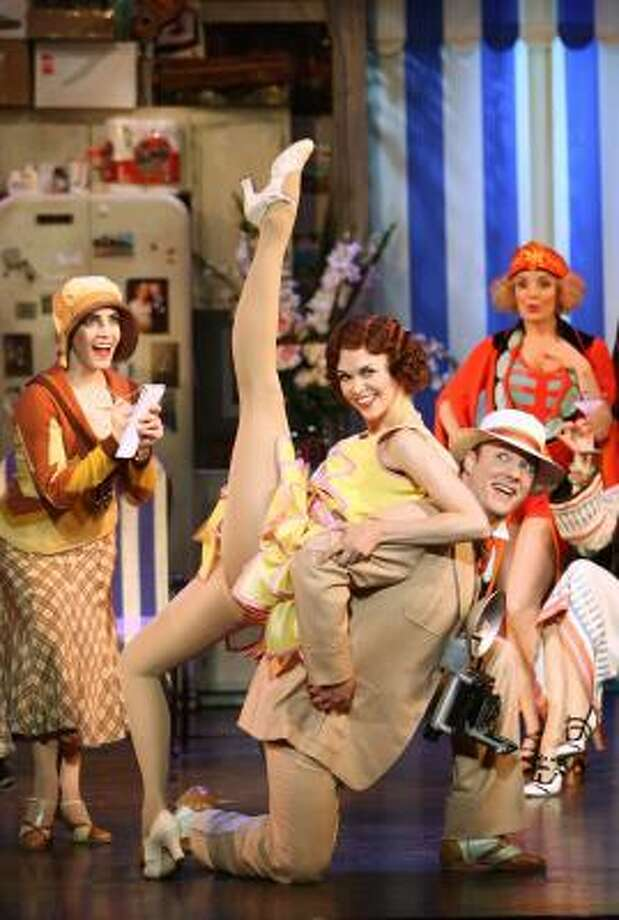 Sutton Foster claims she doesn't want to Show Off (but does, spectacularly) in this showstopper from The Drowsy Chaperone. The musical comedy translates into a delightful listening experience on its exuberant cast album. Photo: REUTERS