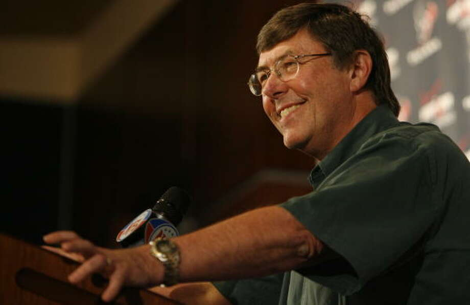 Charley Casserly will go from making personnel decisions to analyzing them when he joins CBS as an NFL analyst. Photo: Buster Dean, Chronicle