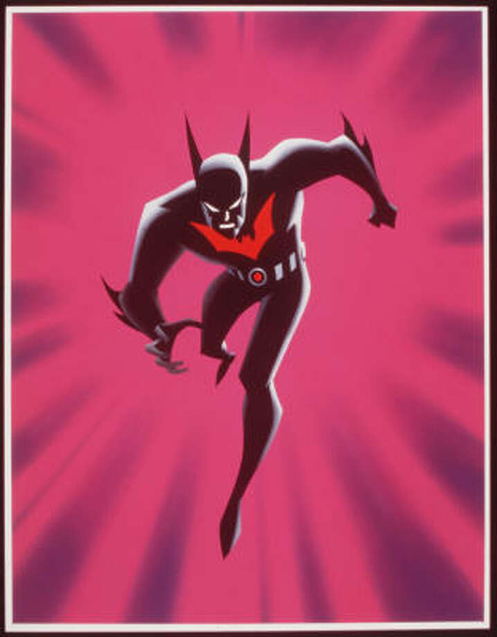 'Batman Beyond' featured a sleeker, anime-inspired take on a Batsuit worn by a new Batman, Terry McGinnis, who fought crime under the direction of an older Bruce Wayne.