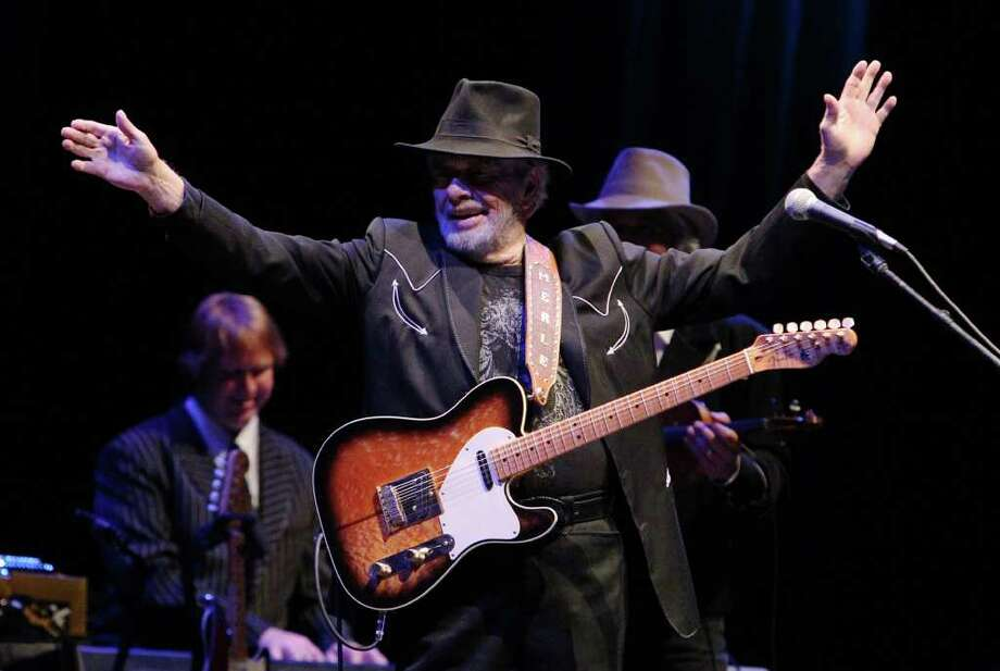 March 14:Country Music: Merle Haggard at Floore's Doors open at 7 p.m., music at 8:30 Thursday at John T. Floore Country Store, 14492 Old Bandera Road, Helotes. $35-$45. Call 210-695-8827. Photo: Kin Man Hui/kmhui@express-news.net / San Antonio Express-News