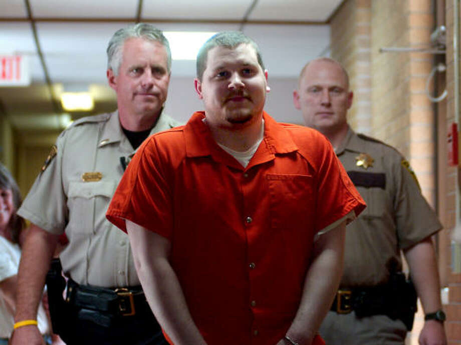 South Dakota death row inmate Elijah Page ended appeals of his death sentence and requested he be allowed to die. The former Texan said he can't live as a condemned man. Photo: STEVE MCENROE, RAPID CITY JOURNAL