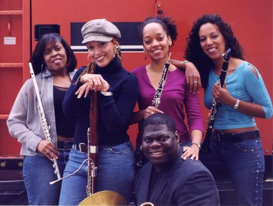 The Imani Winds perform 8 p.m. Friday at Zilkha Hall at the Hobby Center. Tickets are $22-$38.