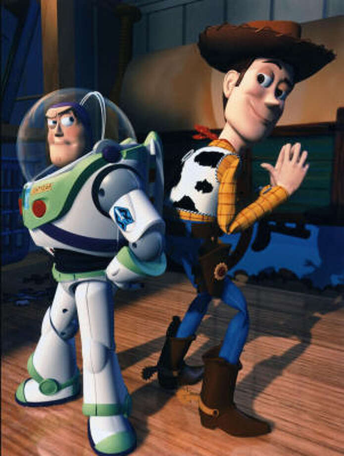 "Toy Story (1995)""That wasn't flying. That was falling with style."" Photo: Pixar/Disney"