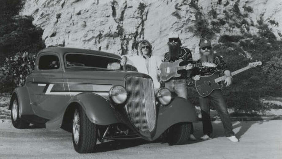 """G, """"Gimme All Your Lovin."""" And all your hugs and kisses too. The song appears on """"Eliminator,"""" the album with the iconic Ford Coupe. Read about the new CD """"La Futura"""" here.  Photo: Warner Bros."""
