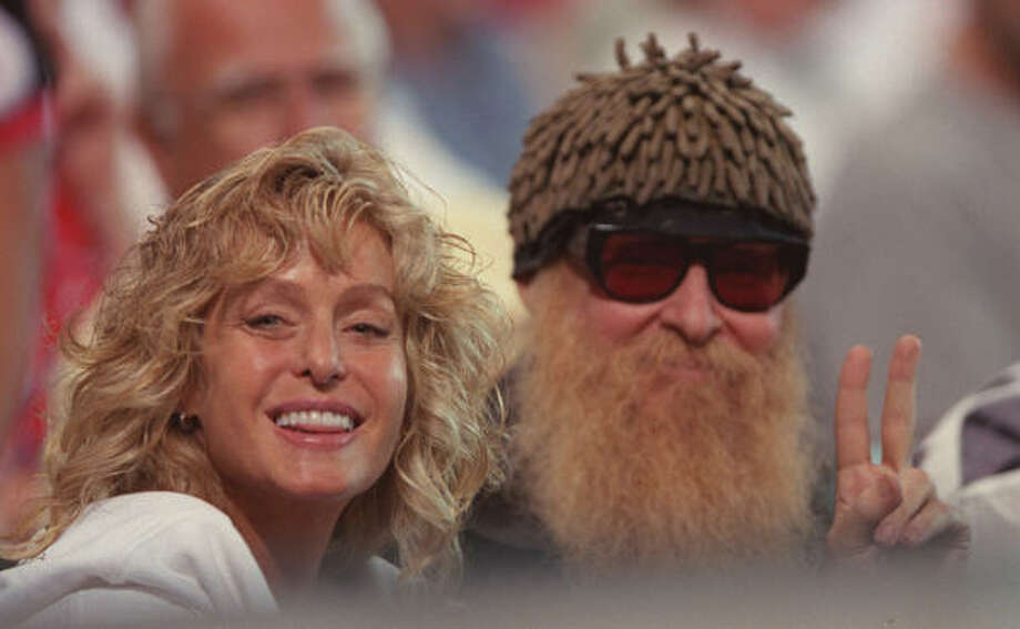 T, Tanglewood. It's the part of Houston where Billy Gibbons was raised, and he has remained true to the city. (He catches a ball game here with Farrah Fawcett during the first season in the Astros' new park.) Photo: Karen Warren, Houston Chronicle