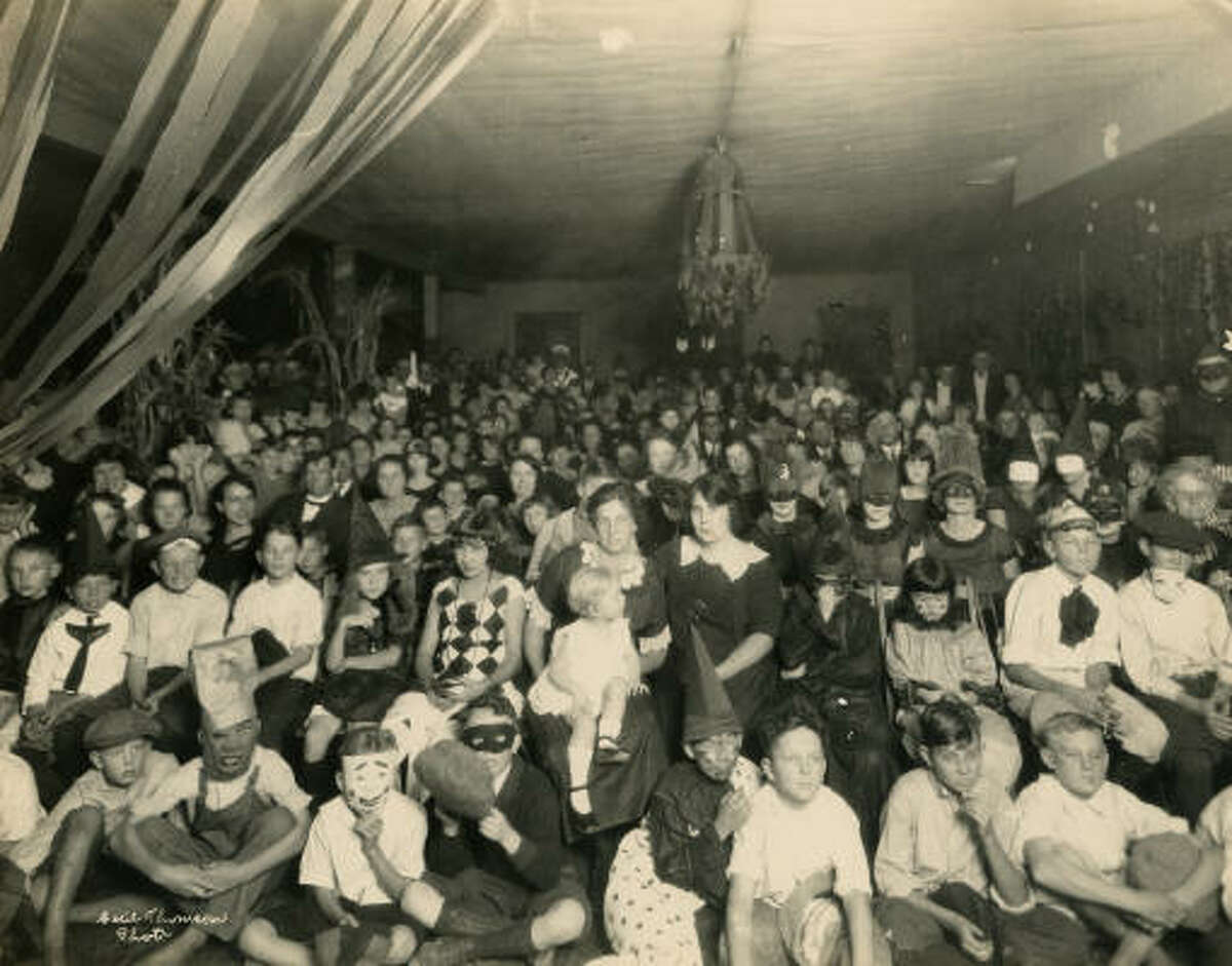 Halloween party, circa 1920s